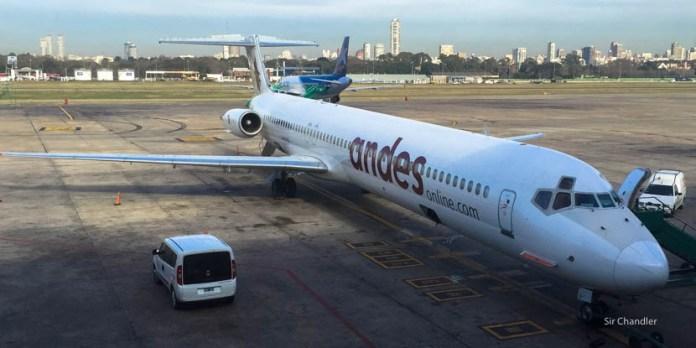 Andes está haciendo charters de egresados a Bariloche