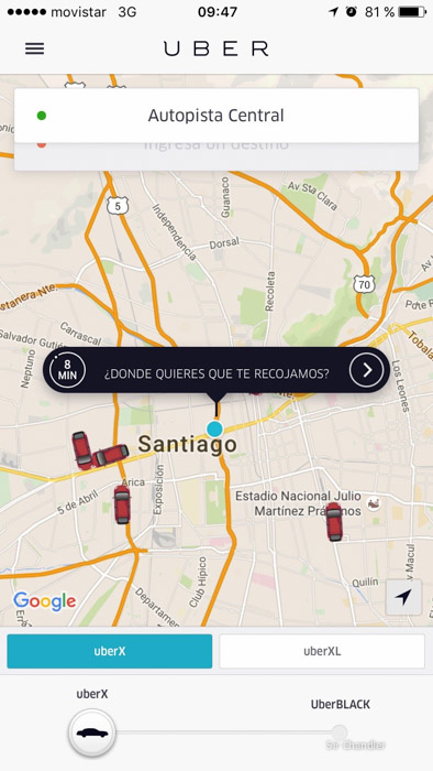 santiago-chile-uber