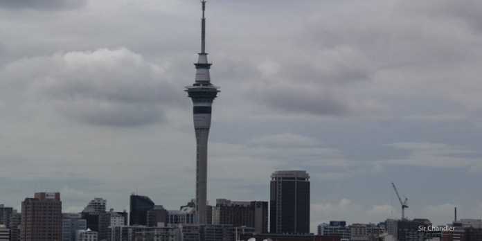 La Sky Tower de Auckland