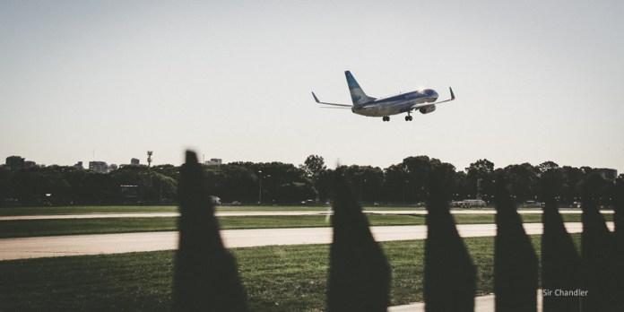 Récord de pasajeros viajando por avión en la Argentina