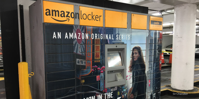 Usando los Amazon Lockers en Nueva York