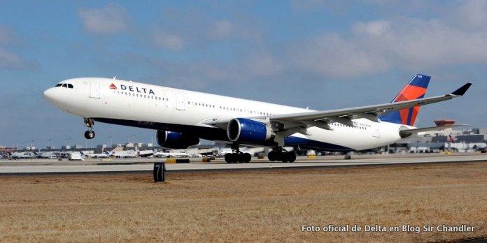 Delta comenzó a operar con el Airbus 330 con más asientos a Buenos Aires