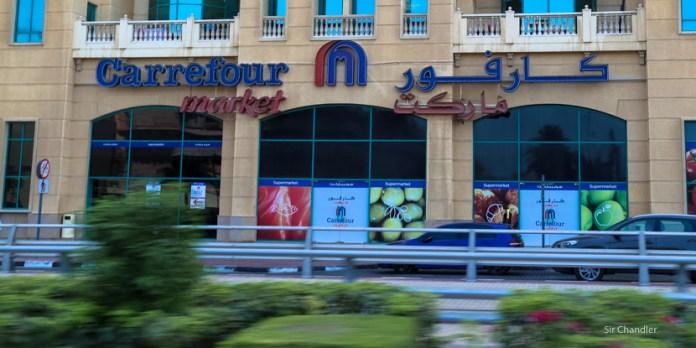 Visitando un supermercado en Dubai