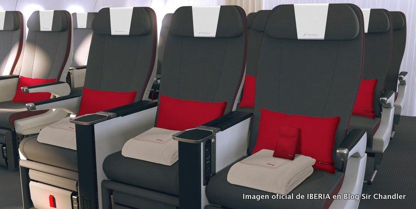 Iberia pondrá Premium economy a Buenos Aires