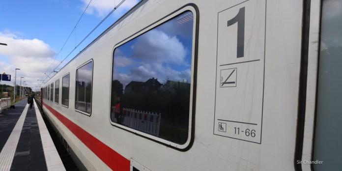 En tren de Amsterdam a Berlín