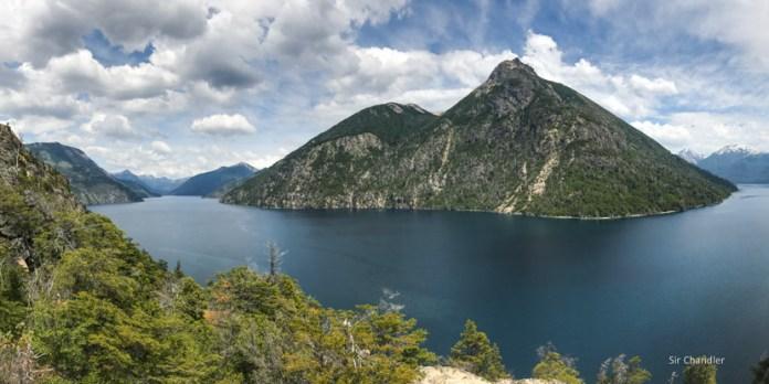 Un trekking al brazo Tristeza en Bariloche