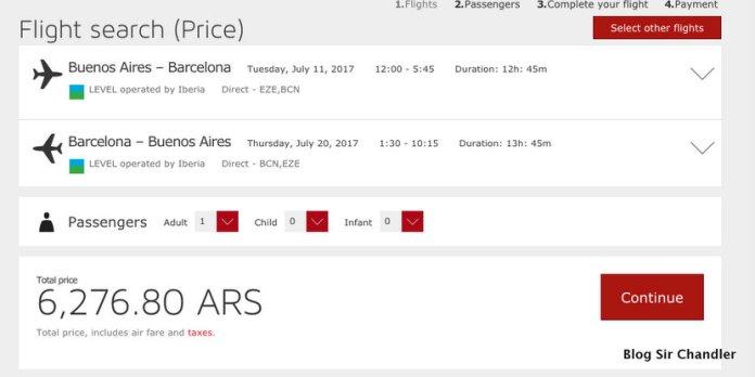 Ya están los pasajes de LEVEL desde $6.276 ida y vuelta a Barcelona
