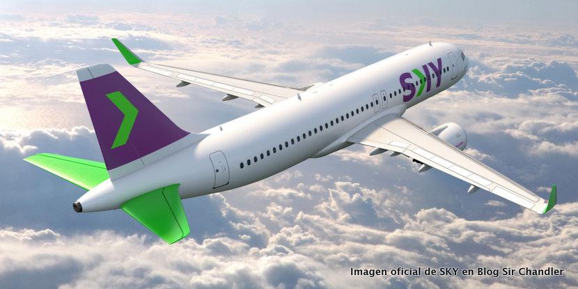 SKY avanza con su pedido de Airbus 320 neo y otros cambios