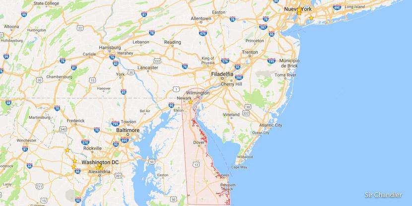 ¿Conviene comprar en el estado de Delaware para ahorrar los impuestos en viaje a USA?