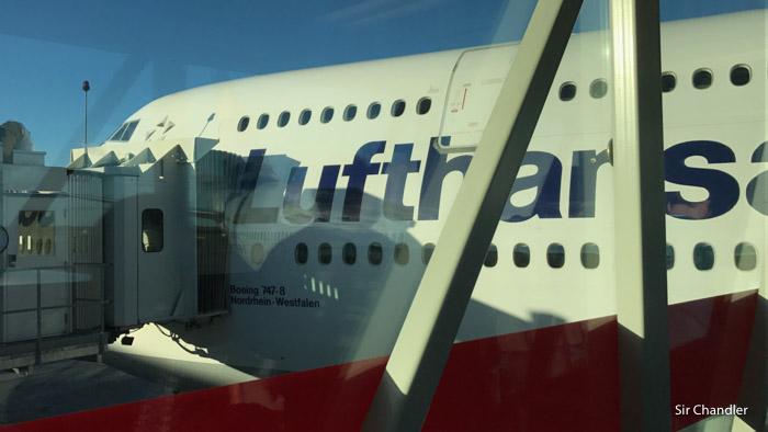 Acreditando el vuelo de Lufthansa en Copa