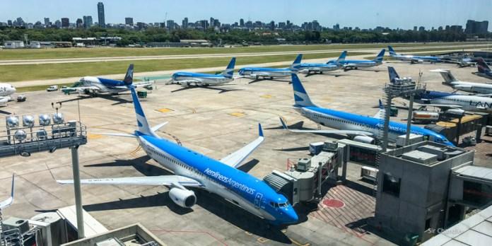 Aumentó un 18% la cantidad de pasajeros aéreos en mayo