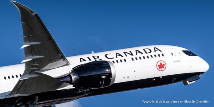 Comienzo del viaje a Toronto y Quebec con Air Canada