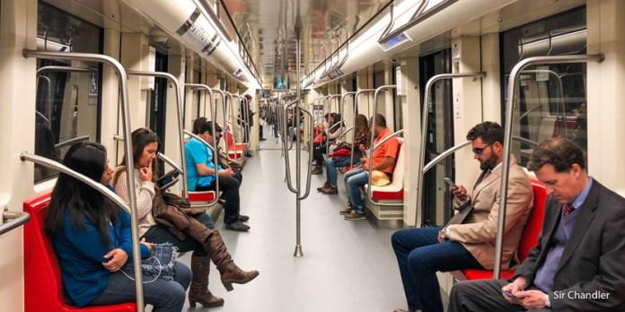 El nuevo metro sin conductor de Santiago de Chile