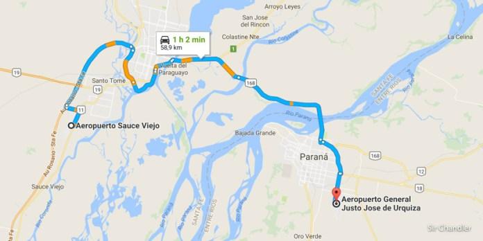 Paraná se une a Santa Fe en la búsqueda de vuelos