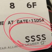 Me tocaron las SSSS en el boarding... y sobreviví para contarlo! :P