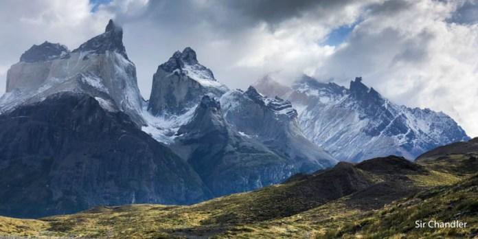 Torres del Paine en el sur de Chile