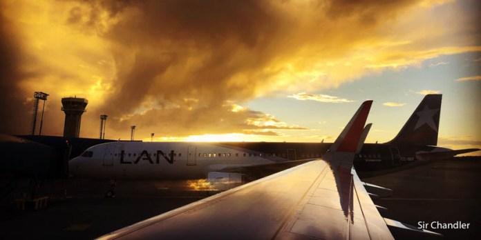 Vuelo hacia y desde Punta Arenas con LATAM