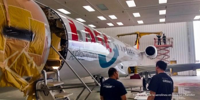 LASA a punto de recibir sus primeros aviones en Neuquén