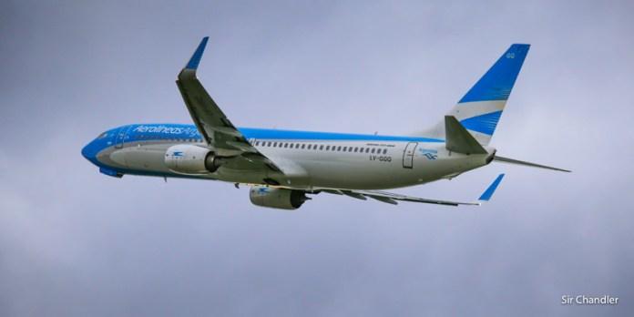 Cambios en los tiempos del web checkin de Aerolíneas Argentinas