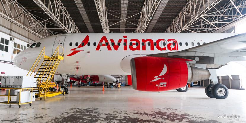 Así es el primer Airbus 320 de Avianca Argentina