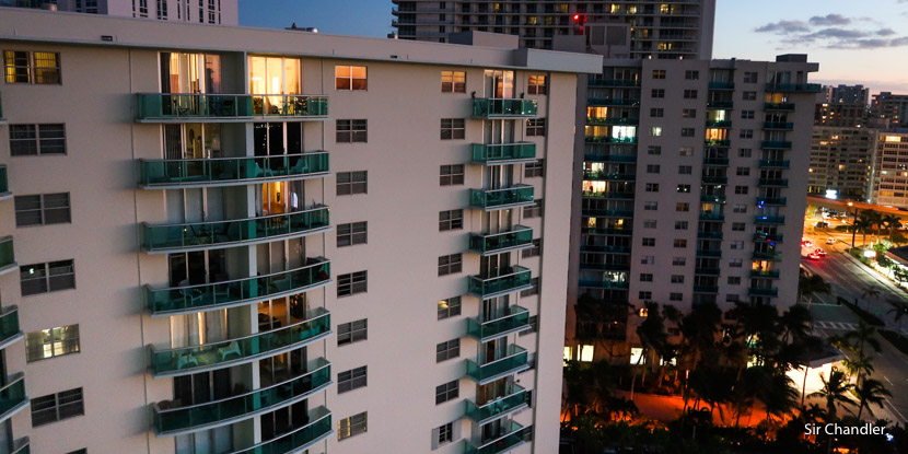 El departamento de alquiler en el que estuvimos en Miami