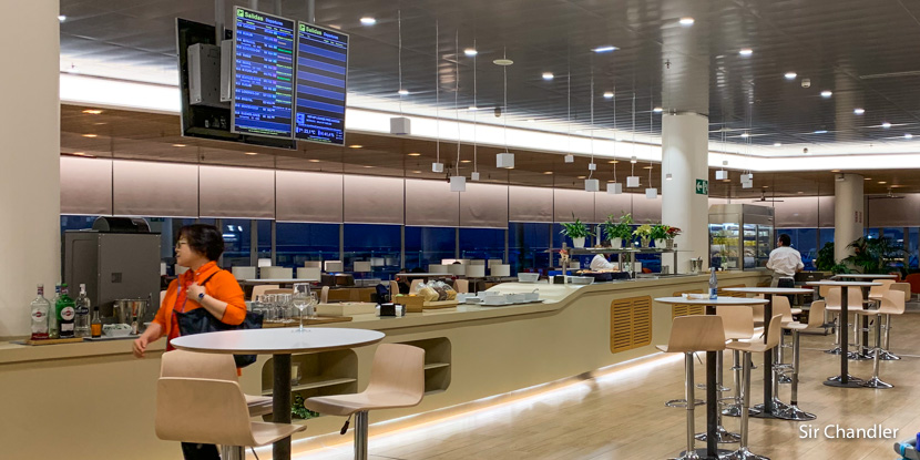 Salón VIP de Madrid: el Cibeles en la terminal de Aerolíneas Argentinas y Air Europa (¡bueno y con Priority Pass!)