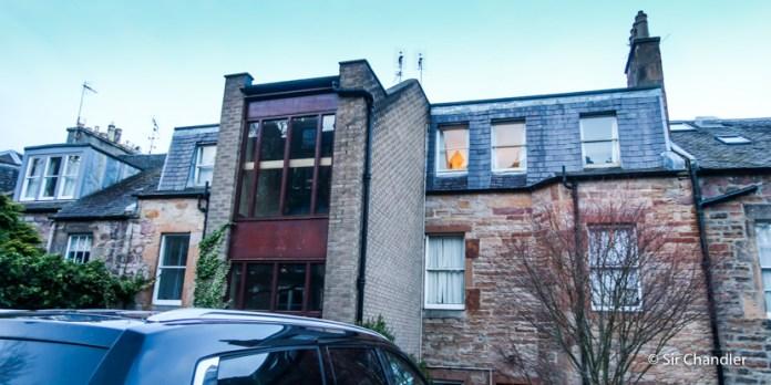 El departamento que alquilamos en Edimburgo (Airbnb)