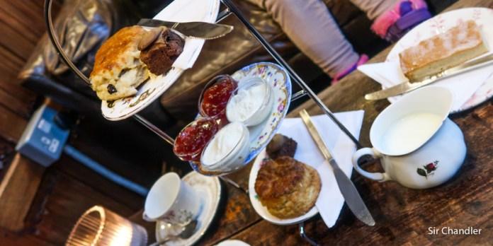 El té galés de Chubut versus el té galés de… GALES