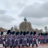 Un show gratuito en Londres: el cambio de guardia del palacio Buckingham