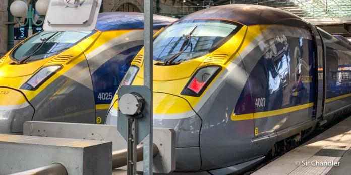 De Londres a París en el Eurostar