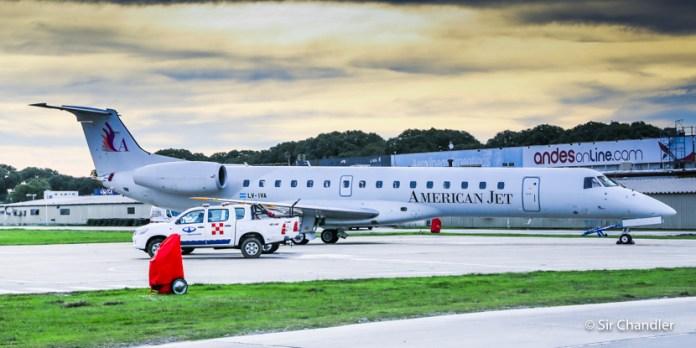 American Jet va por su segundo Embraer 145