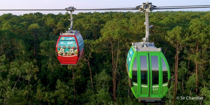El Disney Skyliner (teleférico) arranca en septiembre y otras novedades