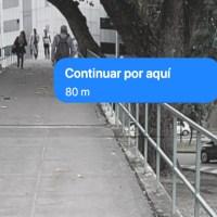 Google Maps probando la realidad aumentada para guiar por las calles
