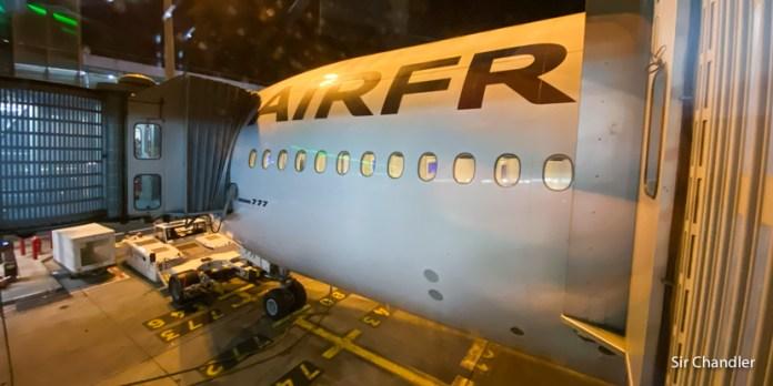Vuelo entre París y Buenos Aires con Air France