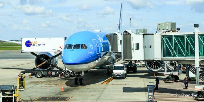 Vuelo KLM Buenos Aires Amsterdam en Boeing 787