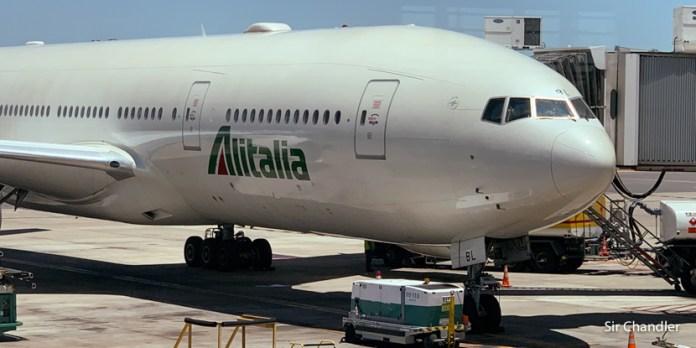 Alitalia pone un vuelo hacia/desde Roma y tiene lugares libres