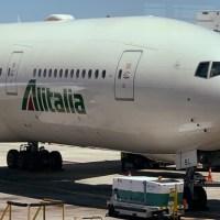Alitalia: ocupación de su vuelo a Buenos Aires, la crisis, el 30% y algunas cosas más