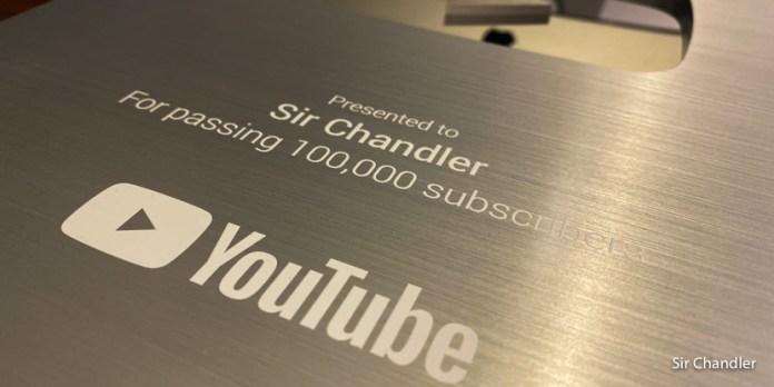 La placa de Youtube llega igual pese a la cuarentena ;)
