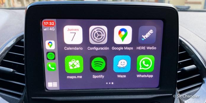 Apple CarPlay: nuevos GPS en el sistema para el auto que usan los Iphone