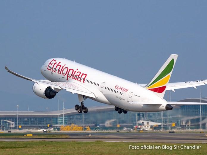 Ethiopian suspende sus vuelos con la Argentina hasta noviembre