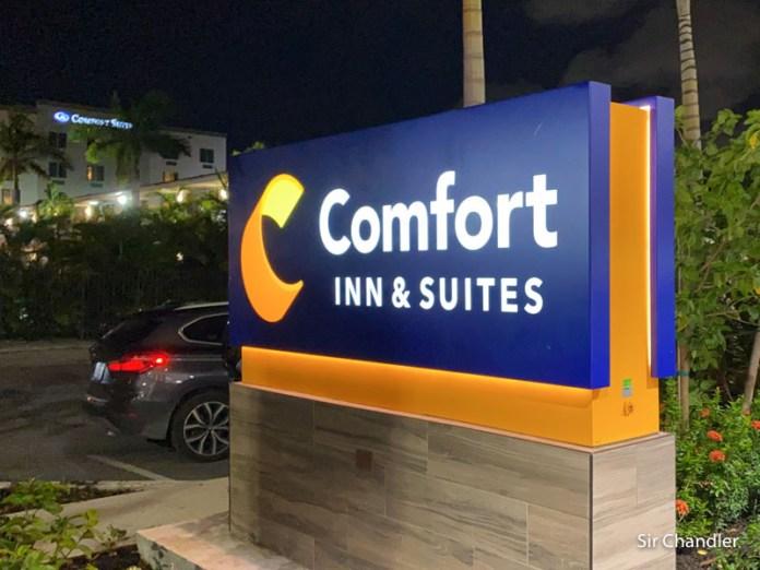El hotel de Miami donde me alojé y las restricciones de estos tiempos