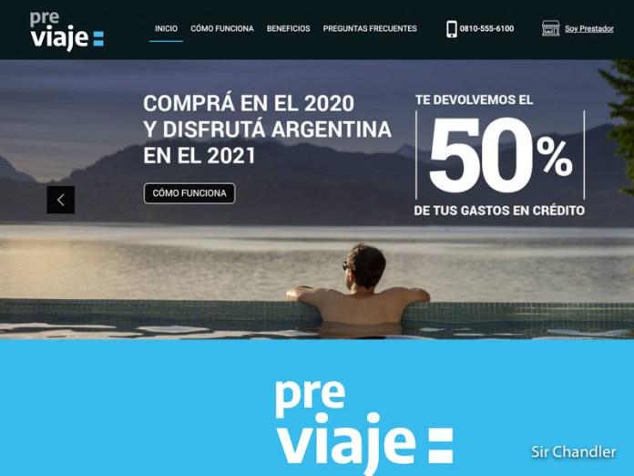 Pre Viaje: arrancó el sitio para la carga de compras de turismo nacional