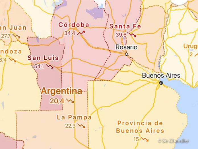 Activar en Google Maps la información de Covid-19