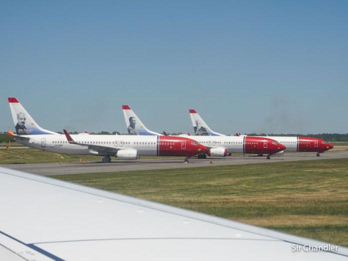 Se fueron los Boeing 737 de Norwegian Argentina