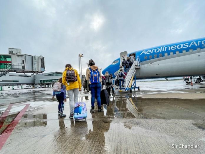 Crónica de vuelo a El Calafate con Aerolíneas Argentinas