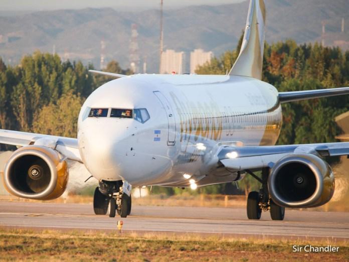 Llega el tercer avión de Flybondi