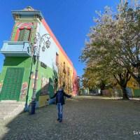 Recorrida por una Buenos Aires sin turistas
