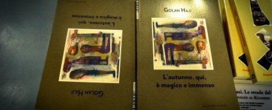 """""""Leggere"""" la Siria da un altro punto di vista. A Bari il reading del poeta curdo siriano Golan Haji"""