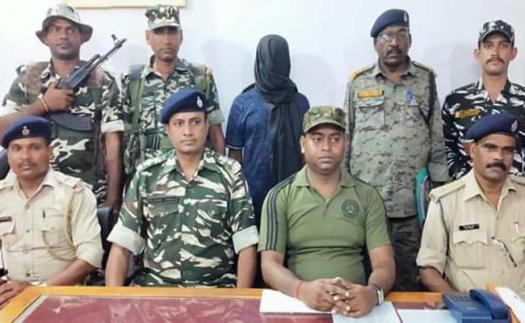 naxal, jharkhand, TSPC Jharkhand, Chatra, Police Arrested TSPC commander, Chatra Jharkhand, Police Arrested 5 lakhs rewardee TSPC naxali, shekhar ganjhu in Chatra Jharkhand , TSPC Extremist Arrested in Jharkhand, sirfsach.in, sirf sach, चतरा, झारखंड , चतरा में टीएसपीसी उग्रवादी शेखर गंझू गिरफ्तार, सिर्फ सच