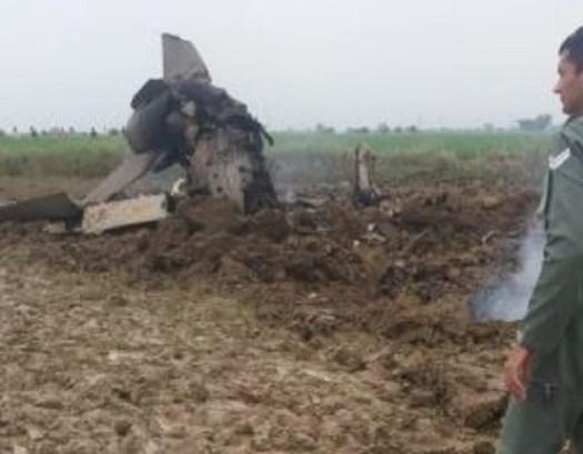 Madhya pradesh, bhind, plane crash in gwalior, indian air force, fighter plane crash in madhya pradesh, MIG-21, sirf sach, sirfsach.in, मध्यप्रदेश, भिंड, वायुसेना, ग्वालियर, मिग-21, सिर्फ सच